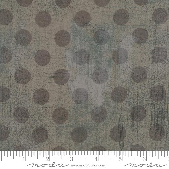 """108"""" Wide Grunge Hits the Spot Grey Couture, available at Quilted Joy"""