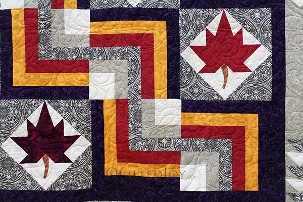 Courtney Leaf Quilt MS 1