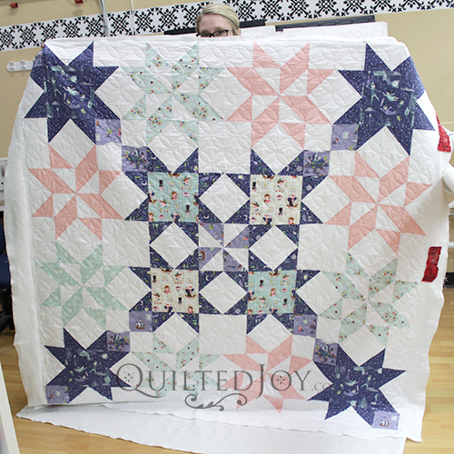 Star Bright Quilt by Polka Dot Chair