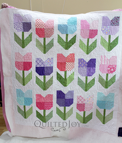 Colleen's Totally Tulips Quilt