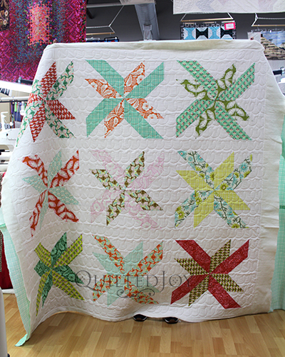 House on Hill Road's Carousel Block Quilt