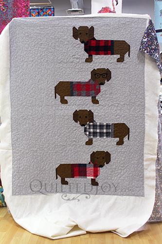 Karen's Dogs in Sweaters Quilt