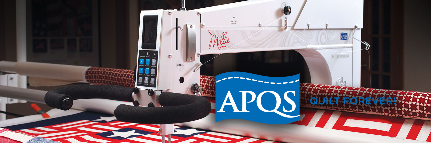 APQS Longarm Quilting Machine