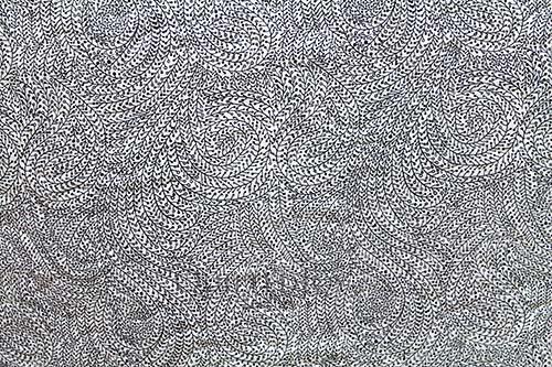 "Michael Miller 108"" Luxe Wide Backs Vine Maze Dalmatian"