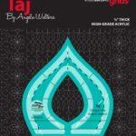 Taj Machine Quilting Ruler CGRQTA5_1
