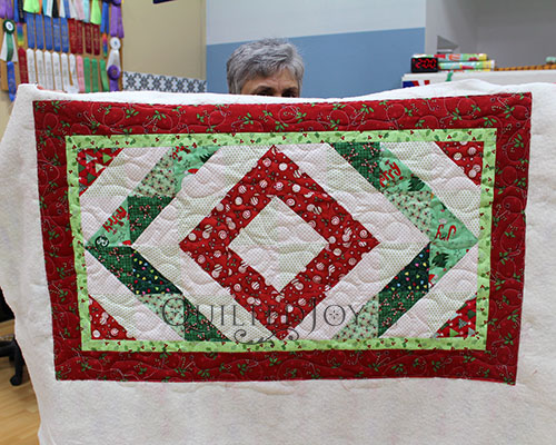 Christmas Table Topper Quilt