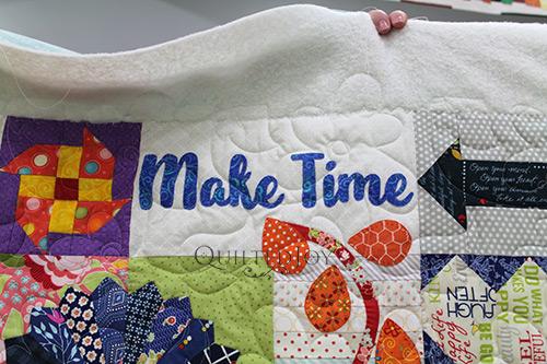 Debra's Dear Daughter Quilt - Make Time Block