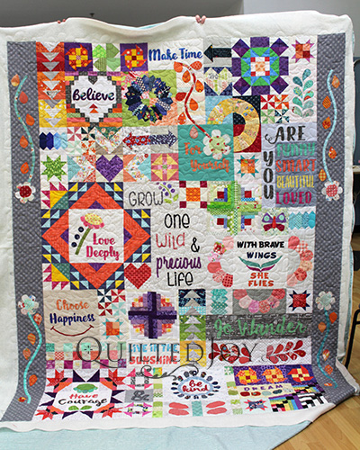Dear Daughter Quilt by Rebecca Mae Designs