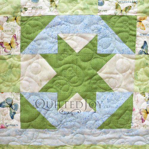 North Star Block Variation on Mary Jo's Sampler Quilt