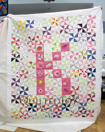Longarm quilting machine renters are giving a quilt as gifts