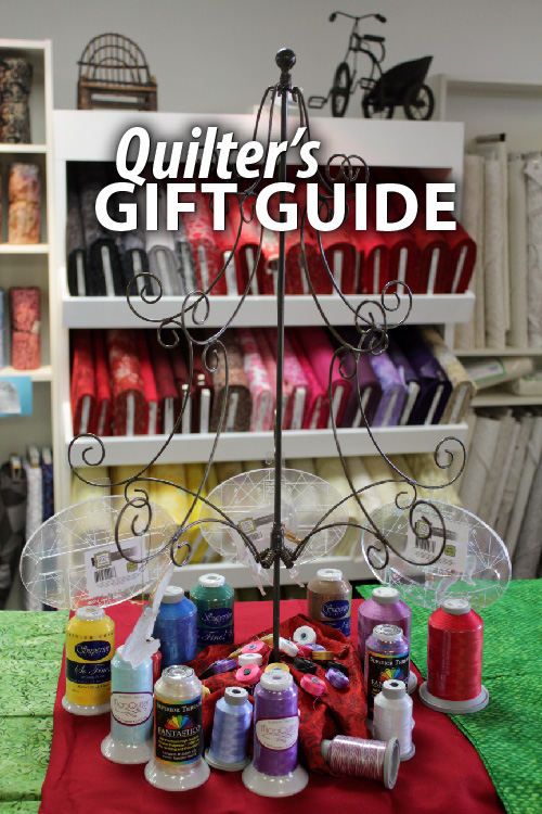 """Quilter's Gift Guide"" Here's a helpful gift guide for your favorite quilter and longarm quilter"