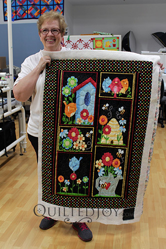 Nancy's Birdhouse Panel Quilt