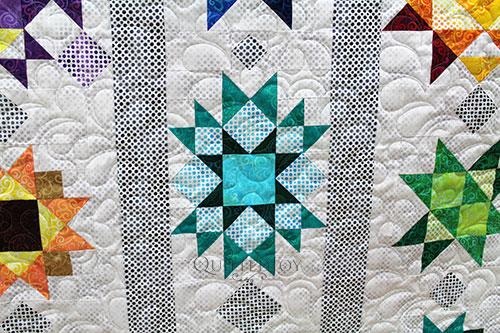 Kathy Green Stars Sampler Quilt