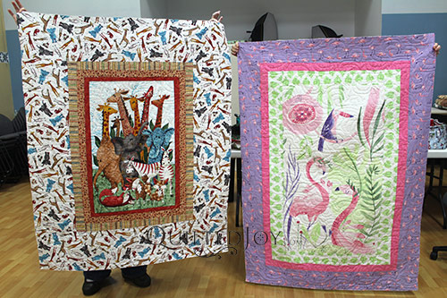 Animal Panel Quilts