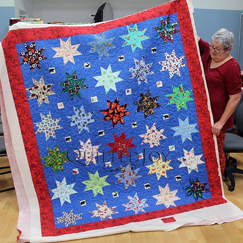 Mary's Stars Quilt for a Boy