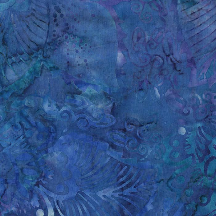 Tonga Extra Wide Batik Fabric - Reef, available at Quilted Joy