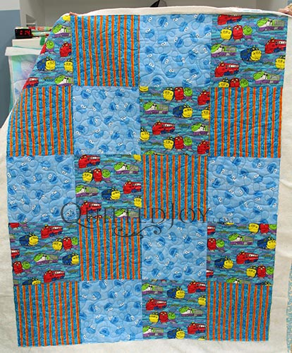 Joanna Simple Baby Quilt