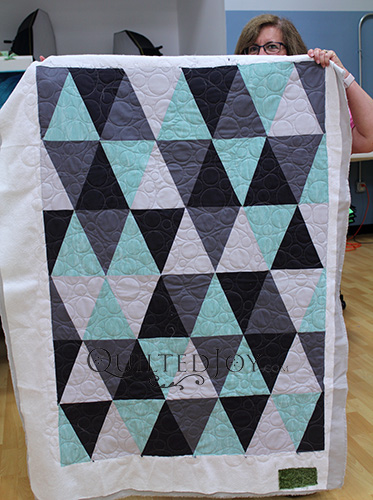 Judy Triangles Quilt