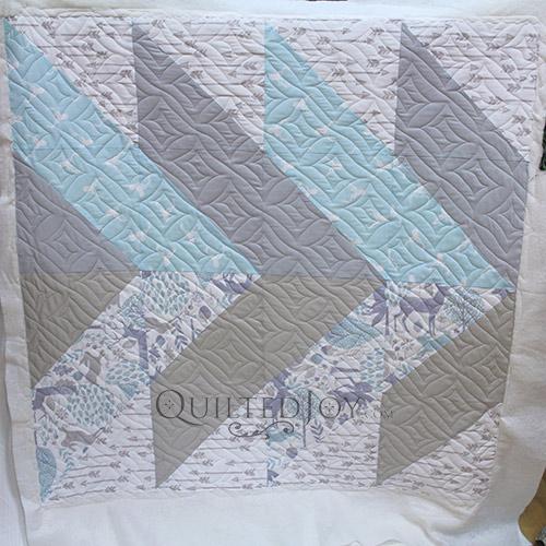 Judy Woodland Baby Quilt