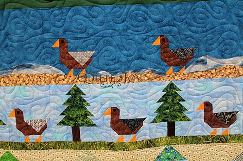 Sue Mountain Pictorial Quilt CU