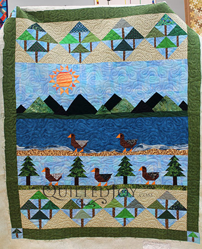 Sue Mountain Pictorial Quilt