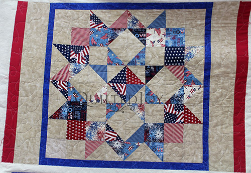 Quilting Patriotic Quilts