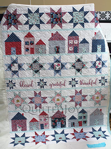 Melissa Lets Stay Home Quilt