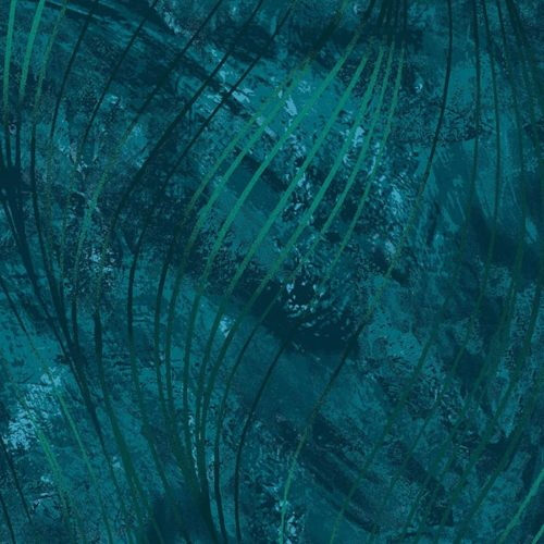 """Go with the Flow Dark Teal 108"""" Wide Quilt Back Fabric, available at Quilted Joy"""
