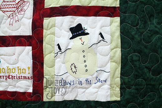 Shirley Christmas Quilt CU 2