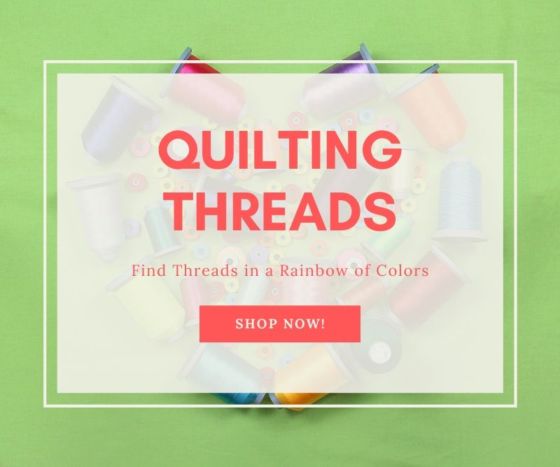 """""""Quilting Threads Find Threads in a Rainbow of Colors Shop Now!"""""""