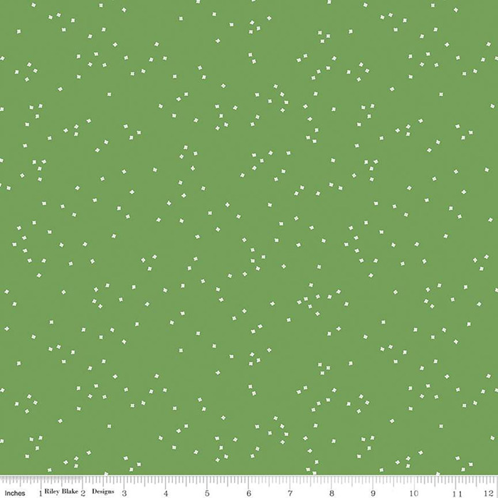 Blossom 108in Wide Back Clover Green, Available from Quilted Joy