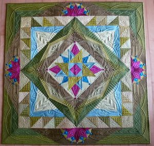 Margaret Solomon Gunn - Designing a Masterpiece Machine Quilting Class
