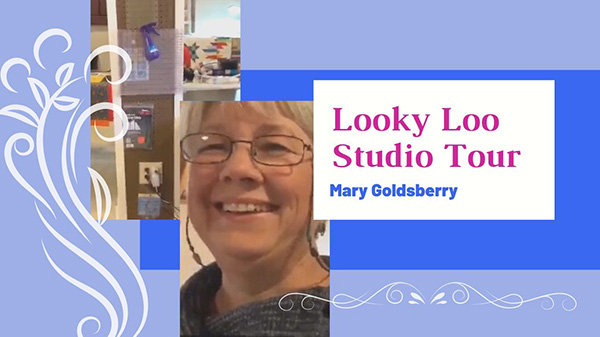 """Looky Loo Studio Tour Mary Goldsberry"""