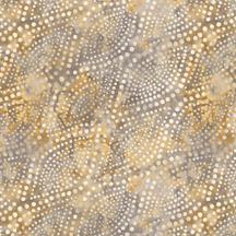 Diagonal Dots Gray Gold