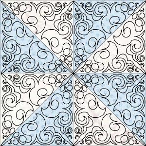Hera blk large pinwheel