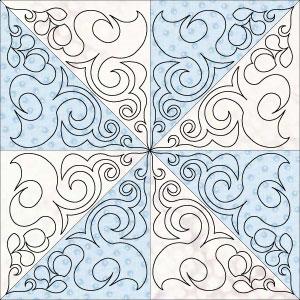 Hera block 2 pinwheel
