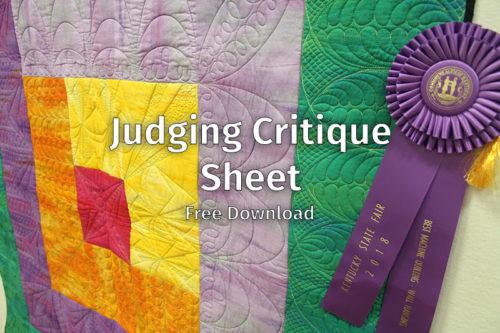 Judging Critique Sheet e1574277037315