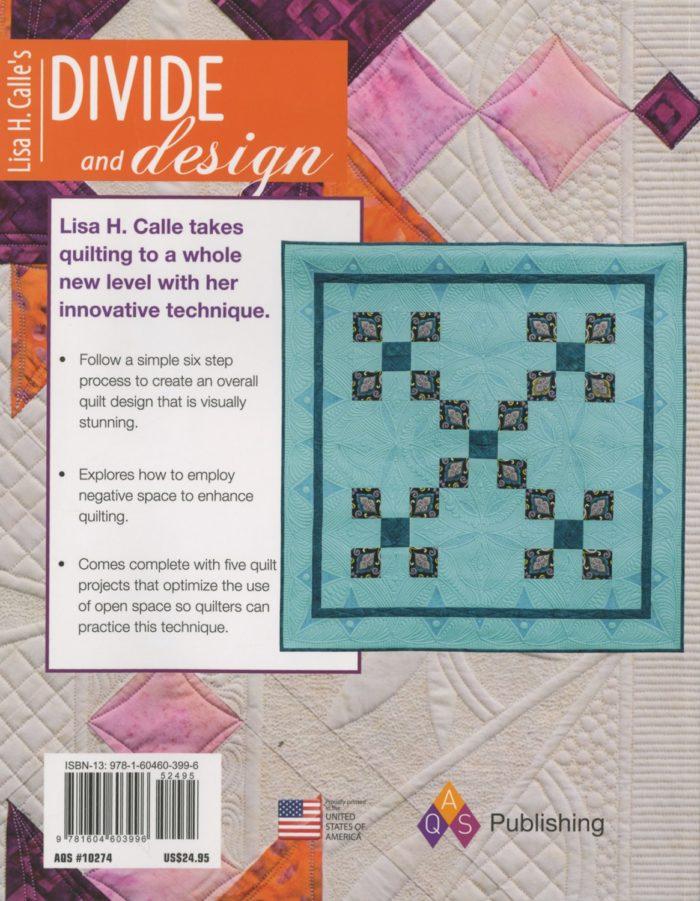 Lisa Calles Divide and Design Back Cover