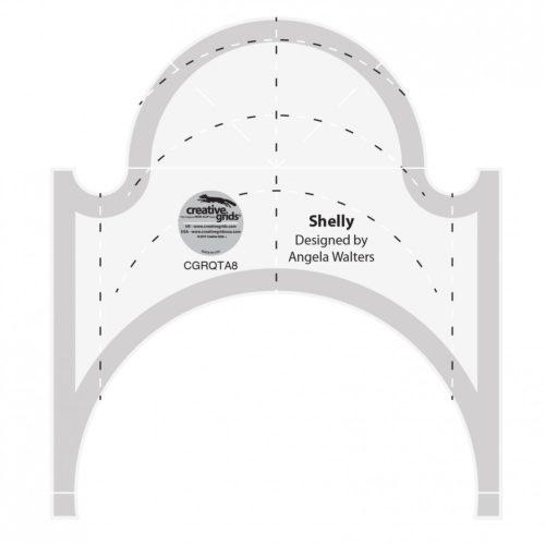Shelly Machine Quilting Ruler CGRQTA8 e1574276864194