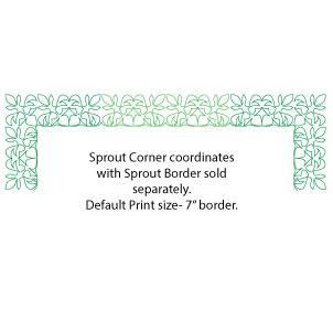 Sprout corner w border