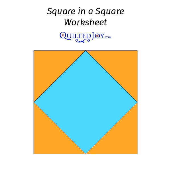 Square in a Square Worksheet 1