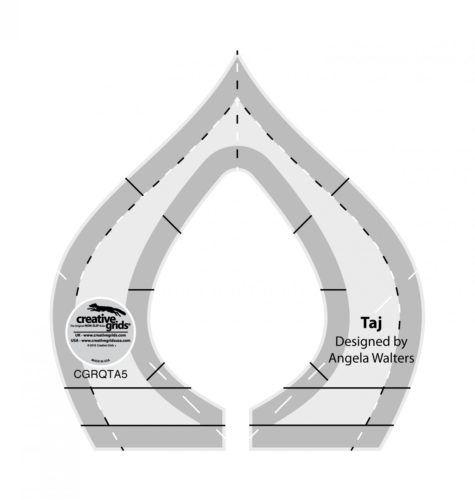 Taj Machine Quilting Ruler CGRQTA5 e1534448332540