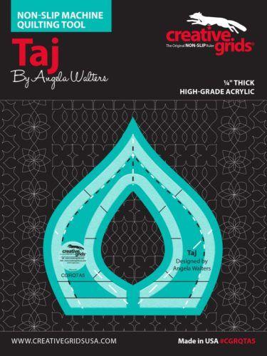Taj Machine Quilting Ruler CGRQTA5 1 e1534448507888