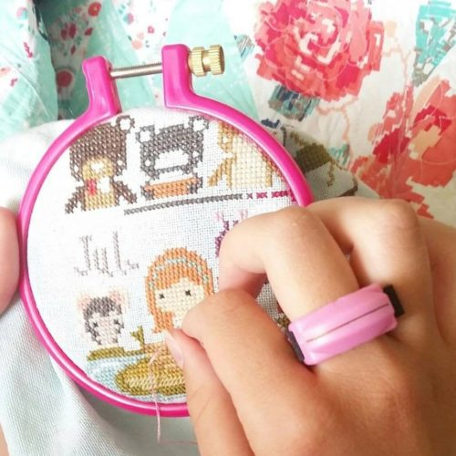 Thread Cutterz Pink Ring embroidery e1574276755216