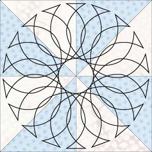 Twisted arch pinwheel