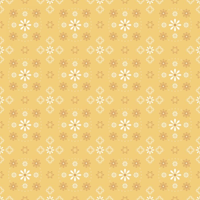 Bee Backings Bandana Honey by Lori Holt, available at Quilted Joy