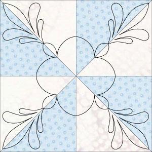 columbus finial arch blk pinwheel