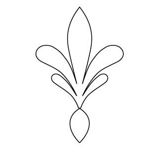 columbus finial plain block