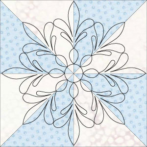 columbus wreath pinwheel