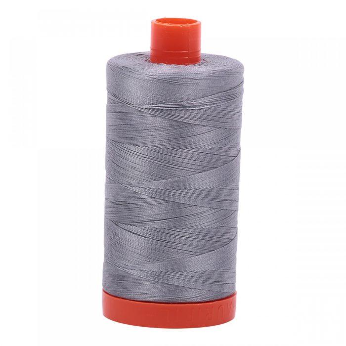 Aurifil Mako Cotton Thread - 2605 Grey